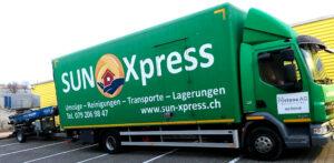 Sun Xpress LKW - Umzug mit dem All inclusive Paket