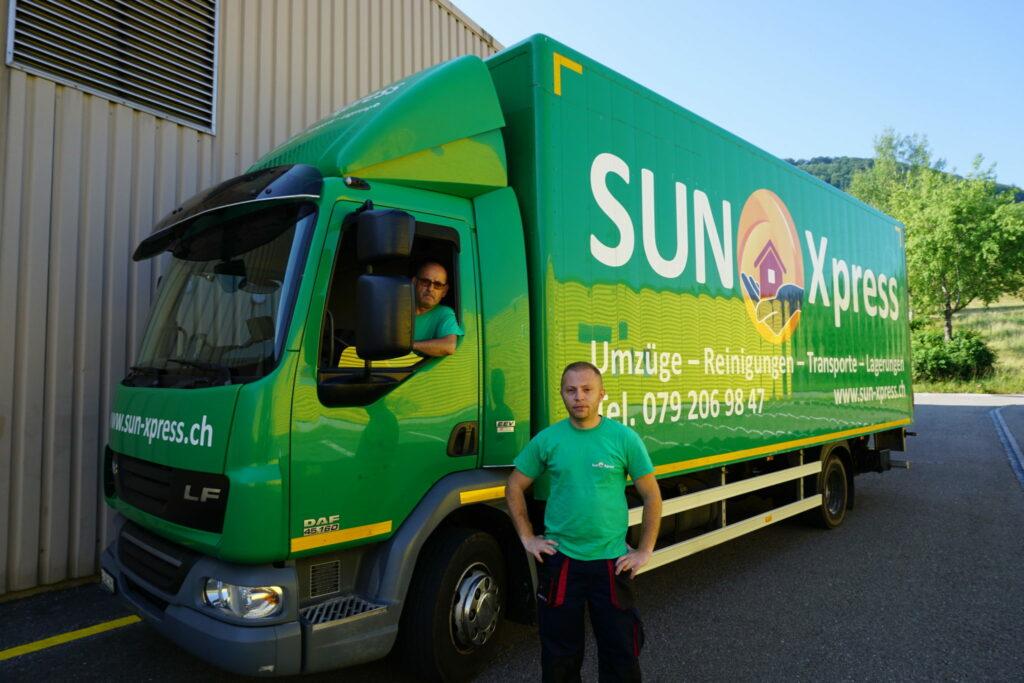 Langjährige Erfahrung - Familienunternehmen Sun Xpress
